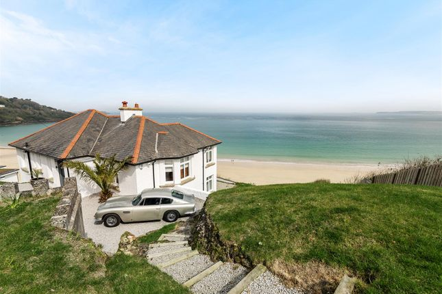 Thumbnail Detached house for sale in Compass Point, Boskerris Road, Carbis Bay, St. Ives