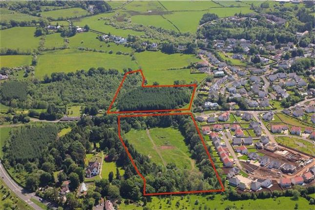 Thumbnail Land for sale in Residential Development Opportunity, Peel Road, Thorntonhall, Glasgow, South Lanarkshire, Scotland
