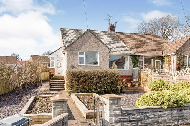 Thumbnail Semi-detached bungalow for sale in Clos-Y-Graig, Rhiwbina, Cardiff