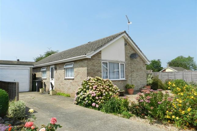 Thumbnail Detached bungalow for sale in Whitelands, Fakenham