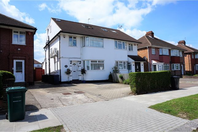 Thumbnail Semi-detached house for sale in Lynford Gardens, Edgware