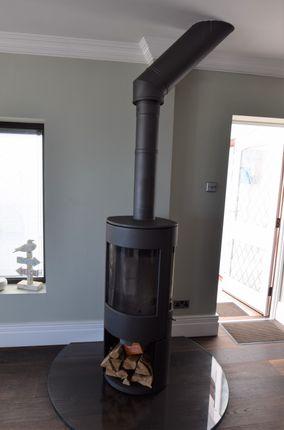Log Burner of Old Martello Road, Pevensey Bay BN24