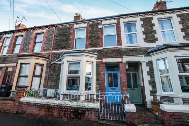 Thumbnail Terraced house for sale in Meadow Street, Cardiff