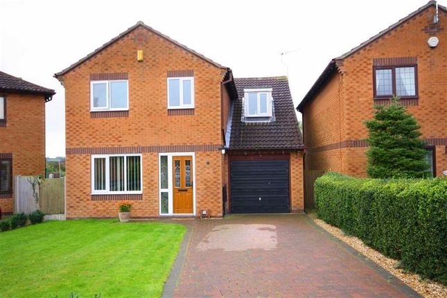 Thumbnail Detached house for sale in Brixworth Way, Retford, Notts