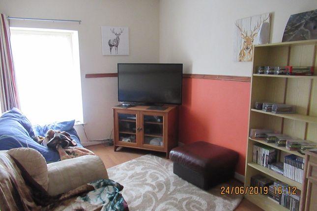 Living Room of 19 C High Street, Nantyffyllon, Maesteg, Bridgend. CF34