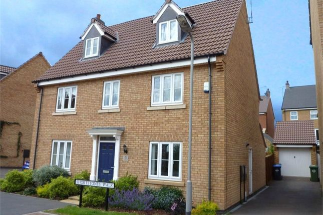 Thumbnail Detached house to rent in Two Pike Leys, Coton Meadows, Rugby, Warwickshire