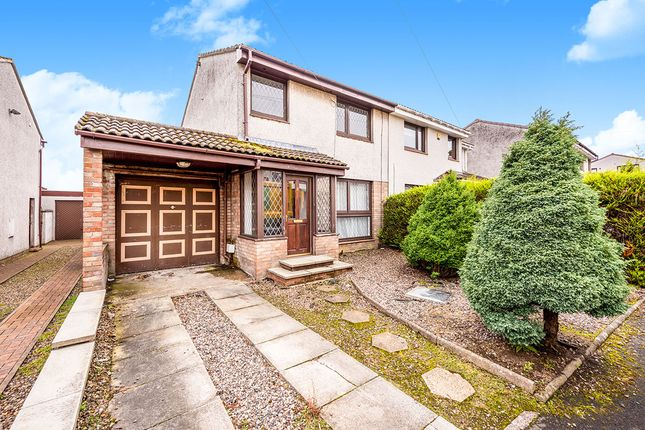 Thumbnail Semi-detached house for sale in Glendevon Place, Kirkcaldy, Fife
