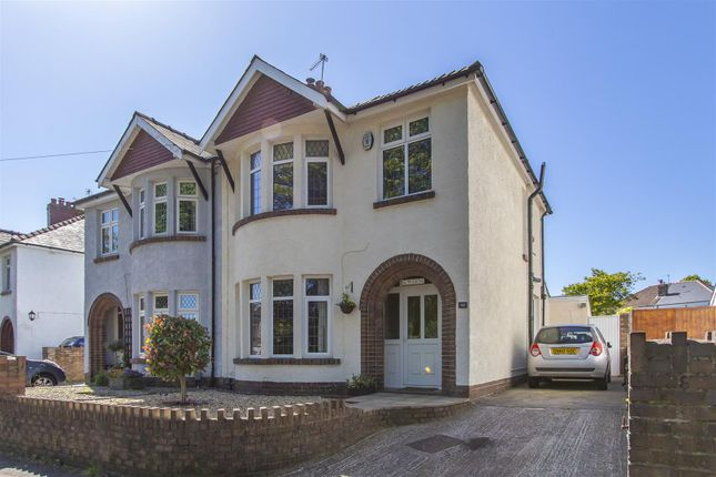 Thumbnail Semi-detached house for sale in Ely Road, Llandaff, Cardiff