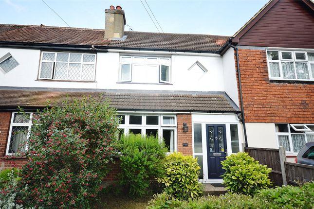 Thumbnail Terraced house for sale in Austin Villas, Woodside Road, Garston, Hertfordshire