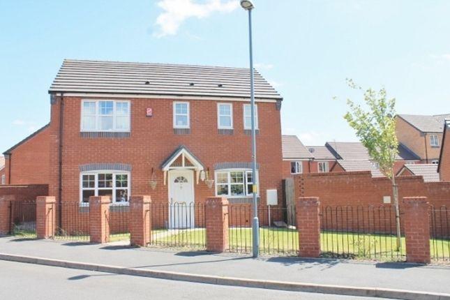 Thumbnail Detached house to rent in Plants Brook Crescent, Erdington, Birmingham