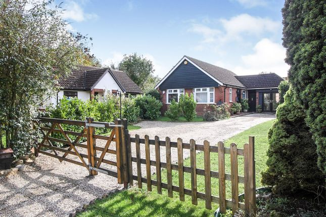 Thumbnail Detached bungalow for sale in Jubilee Close, Laxfield, Woodbridge