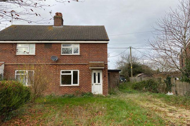 Thumbnail Semi-detached house for sale in Church Road, Gateley, Dereham