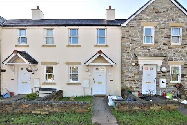 Thumbnail Terraced house to rent in Vicks Meadow, Hatherleigh, Okehampton