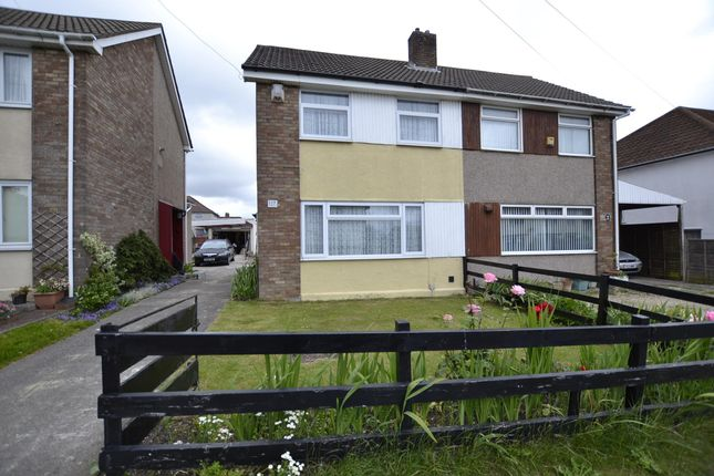 Thumbnail Semi-detached house for sale in Ravenglass Crescent, Bristol