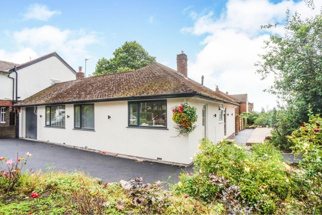 Thumbnail Detached bungalow for sale in Barlow Fold Road, Romiley, Stockport