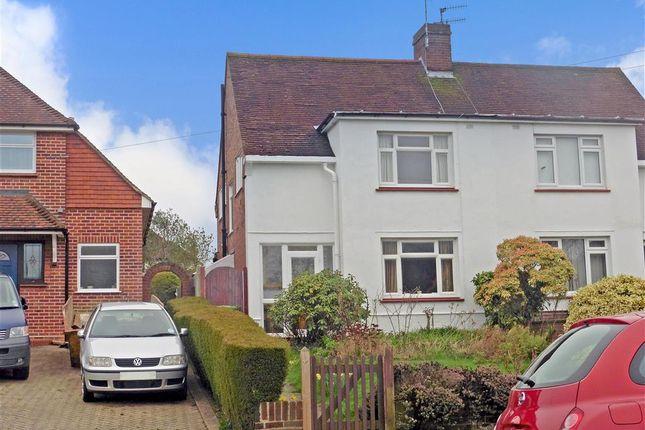 Thumbnail Semi-detached house for sale in Newlands Road, Tunbridge Wells, Kent