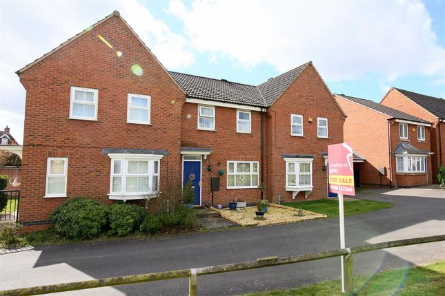 Thumbnail Terraced house for sale in Mill Furlong, Coton Meadows, Rugby