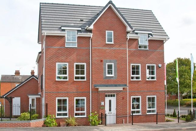 """Thumbnail End terrace house for sale in """"Brentwood"""" at Weddington Road, Nuneaton"""