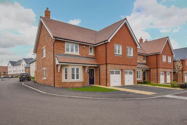 Thumbnail Detached house for sale in Turvin Crescent, Gilston, Harlow