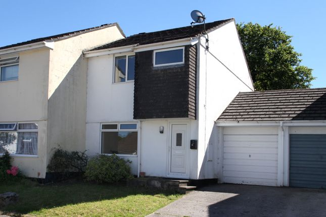 Thumbnail Semi-detached house to rent in Copperfields, Horrabridge