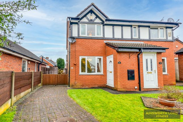Semi-detached house for sale in Belgrave Close, Witton Area, Blackburn