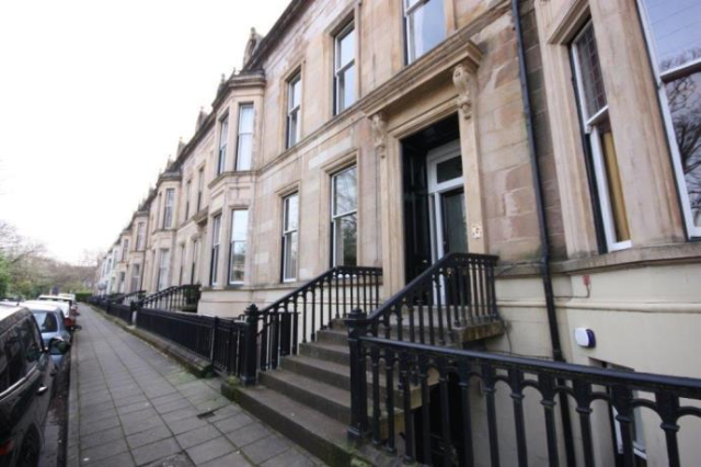 Thumbnail Flat to rent in Princes Terrace, Glasgow