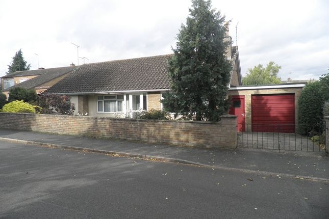 Thumbnail Detached bungalow for sale in Bellamy Road, Oundle, Peterborough