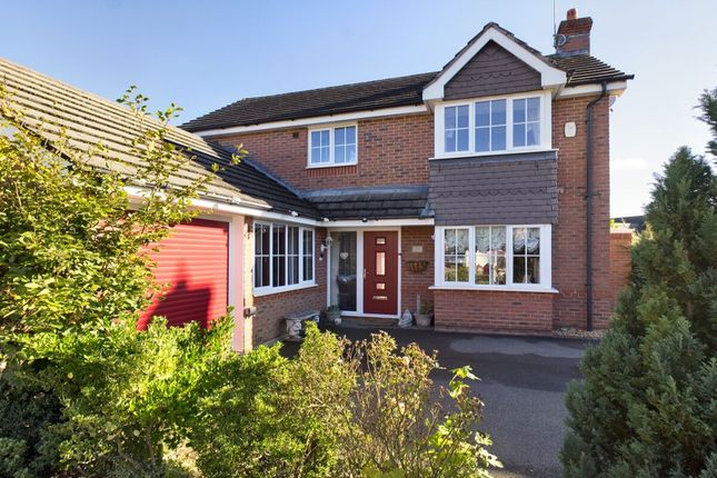 4 bed detached house for sale in Wake Way, Grange Park, Northampton NN4