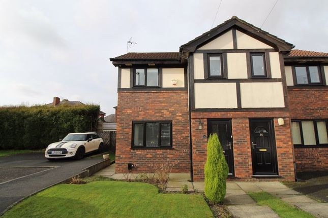 Thumbnail Semi-detached house for sale in Tadmor Close, Little Hulton, Manchester