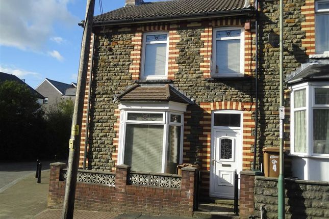 Thumbnail End terrace house to rent in King Street, Abertridwr, Caerphilly