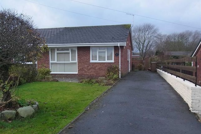 Thumbnail Bungalow to rent in 1, Meadow Lea, Oswestry, Shropshire