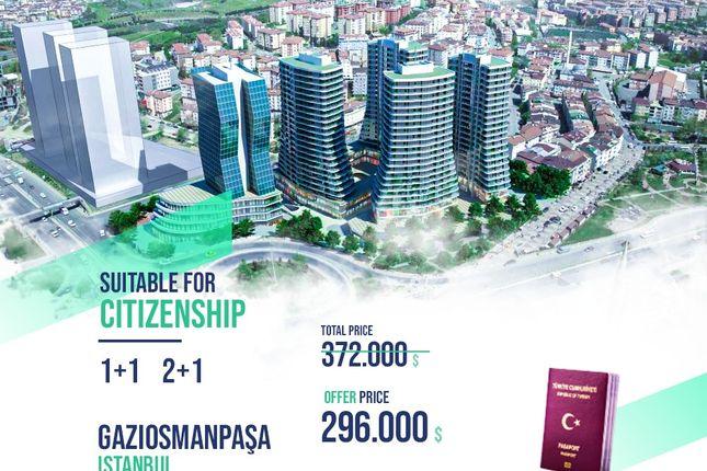 Thumbnail Apartment for sale in Turkish Citizenship Offer For Two Apartments, Gaziosmanpaşa, Istanbul, Marmara, Turkey