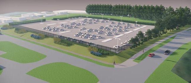 Thumbnail Land to let in Secure Open Storage Lane, Brunleys, Kiln Farm, Milton Keynes, Buckinghamshire