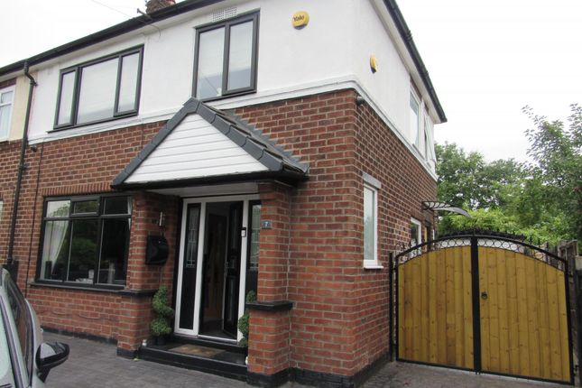 Thumbnail Semi-detached house for sale in Redburn Road, Wythenshawe, Manchester