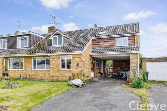 Thumbnail Semi-detached house for sale in Oakfield Road, Bishops Cleeve, Cheltenham