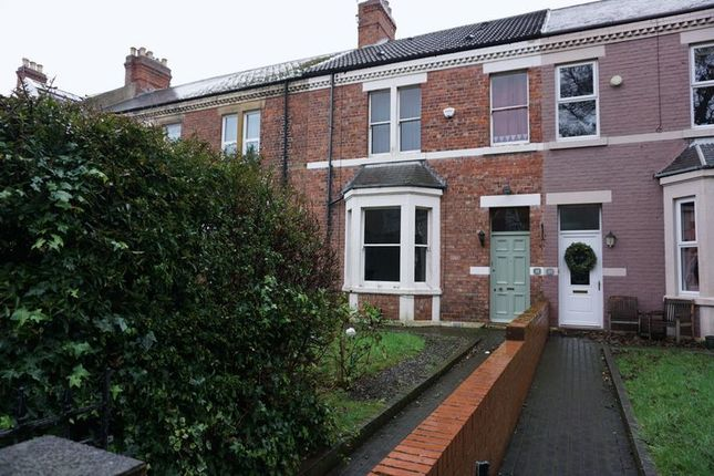 Thumbnail Terraced house to rent in Albany Gardens, Whitley Bay
