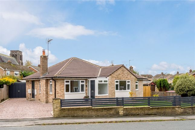 Thumbnail Detached bungalow for sale in Hill Top Drive, Harrogate, North Yorkshire