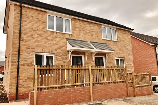 Thumbnail End terrace house to rent in Courtelle Road, Coventry