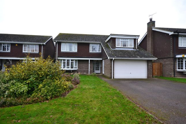 Thumbnail Detached house to rent in Brookfields Close, Newmarket