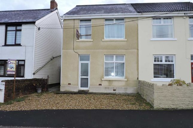 Thumbnail Semi-detached house for sale in Black Lion Road, Gorslas, Llanelli