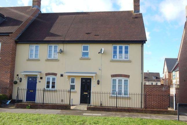 End terrace house for sale in Luna Close, Swindon