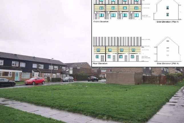 Thumbnail Land for sale in Site At 2 Dipton Grove, Cramlington, Northumberland