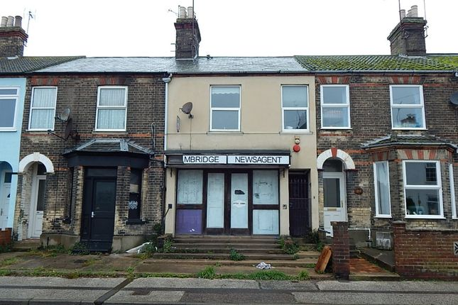 Thumbnail Retail premises for sale in 101 Rotterdam Road, Lowestoft, Suffolk
