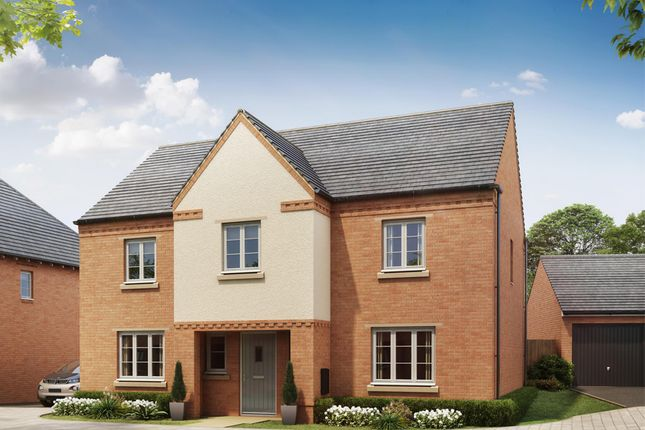 "Thumbnail Detached house for sale in ""Winstone"" at Shrewsbury Court, Upwoods Road, Doveridge, Ashbourne"