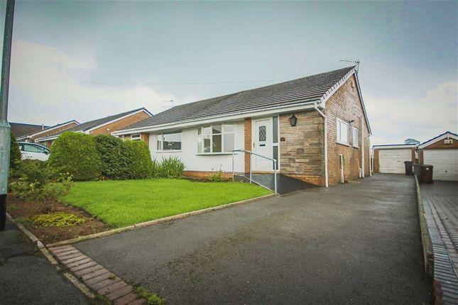 Thumbnail Semi-detached bungalow for sale in Richmond Avenue, Burnley, Lancashire