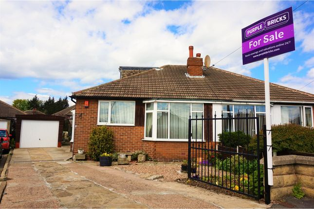 Thumbnail Semi-detached bungalow for sale in Field End Green, Leeds