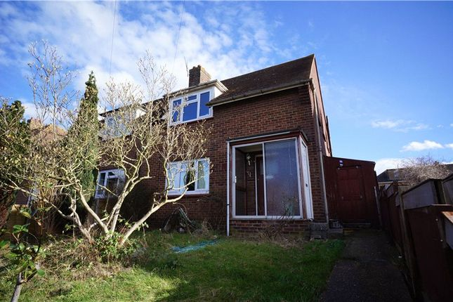 Thumbnail Semi-detached house to rent in St. Davids Crescent, Gravesend, Kent