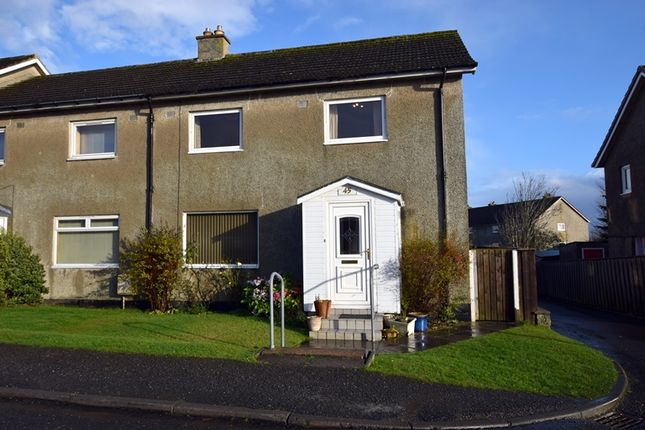 Thumbnail End terrace house for sale in 45 Heathfield Road, Thurso