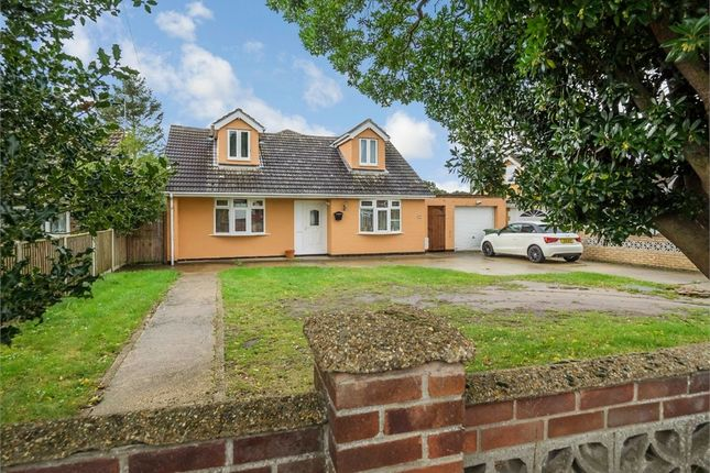 Thumbnail Detached bungalow for sale in Station Road North, Belton, Great Yarmouth, Norfolk