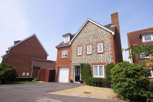 Thumbnail Detached house for sale in Swanton Close, Stubbington